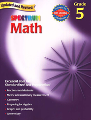 Spectrum Math, 2007 Edition, Grade 5   -