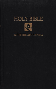 NRSV Pew Bible with Apocrypha, Hardcover, Black   -
