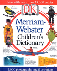 Merriam-Webster Children's Dictionary Illustrated Edition: More than 35,000 definitions - Slightly Imperfect  -