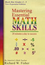 Mastering Essential Math Skills: Book One DVD New Expanded Edition  -     By: Richard W. Fisher