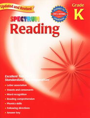 Spectrum Reading, 2007 Edition, Grade K   -