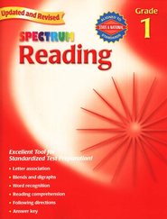 Spectrum Reading, 2007 Edition, Grade 1   -