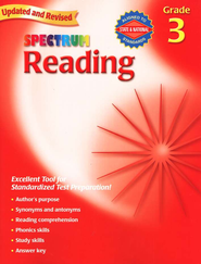 Spectrum Reading, 2007 Edition, Grade 3   -
