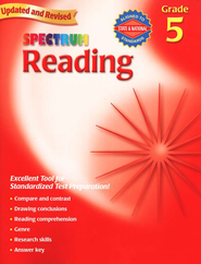 Spectrum Reading, 2007 Edition, Grade 5   -