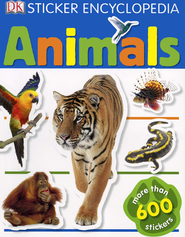 Animals: Sticker Encyclopedia  -