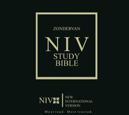Zondervan NIV Study Bible Loose-Leaf Edition with  binder 1984  -