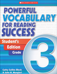 Powerful Vocabulary for Reading Success: Student Workbook Grade 3  -     By: Cathy Collins Block, John Mangieri