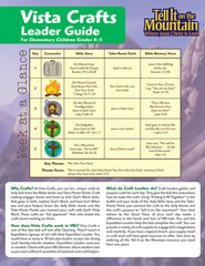 Vista Crafts Leader Pack  -              By: Pamela Nummela & Greg Copeland