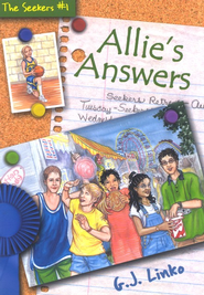 Allie's Answers, The Seekers #1   -     By: Gina Linko