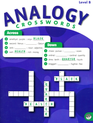 Analogy Crosswords Level B   -