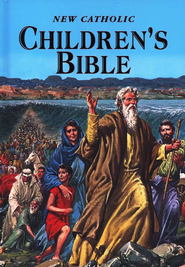 New Catholic Children's Bible  - Slightly Imperfect  -              By: Thomas J Donaghy