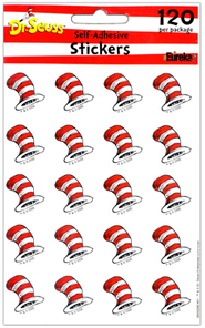 The Cat's Hat stickers  -