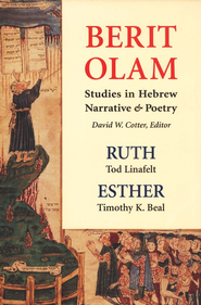 Berit Olam Studies in Hebrew Narrative & Poetry   -              Edited By: David W. Cotter                   By: David W. Cotter, ed.