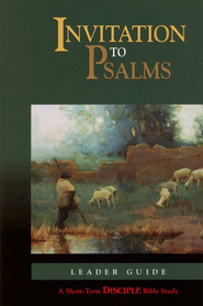 Invitation to Psalms: Leader's Guide  -     By: Michael Jenkins