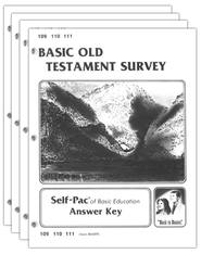 High School Bible Elective: Old Testament SCORE Keys  109-120  -
