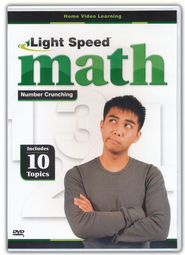 Light Speed Math: Number Crunching DVD   -