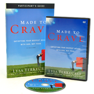 Made to Crave: Satisfying Your Deepest Desires with God Not Food Pack, Participant's Guide and DVD  -              By: Lysa TerKeurst