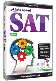 Light Speed SAT Math DVD  -