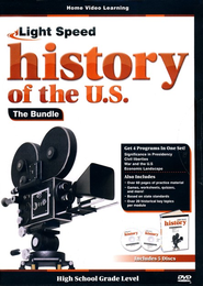 Light Speed History of the U.S. DVD Bundle (4 DVDs)  -
