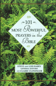 101 Most Powerful Prayers in the Bible   -     By: Steve Rabey, Lois Mowday Rabey, Claire Cloninger