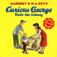 Curious George Visits the Library, Softcover   -     By: Margret Rey, H.A. Rey
