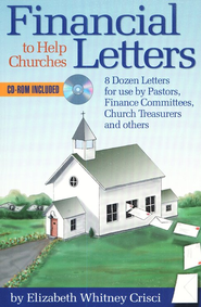 Financial Letters to Help Churches  -     By: Elizabeth Whitney Crisci