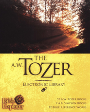 The A.W. Tozer Electronic Library on CD-ROM -  Powered by WORDsearch 9  -     By: A.W. Tozer