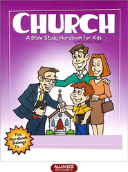 Church: A Bible Study Wordbook for Kids  -     By: Richard E. Todd