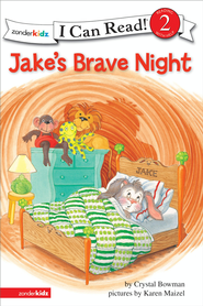 Jake's Brave Night: Biblical Values - eBook  -     By: Crystal Bowman, Karen Maizel