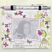 Notepad Frame and Banner Pen Set, Daughter  -