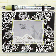 Notepad Frame and Banner Pen Set, True Friend  -