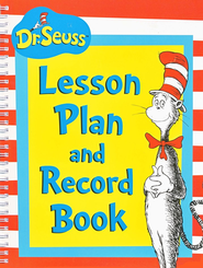 Cat in Hat Lesson Plan Record Book   -