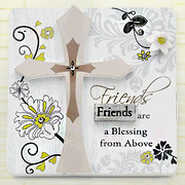 Friends are a Blessing Plaque  -