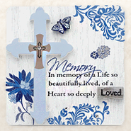 In Memory of a Life Plaque  -