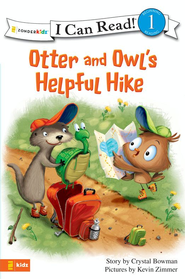Otter and Owl's Helpful Hike - eBook  -     By: Crystal Bowman     Illustrated By: Kevin Zimmer