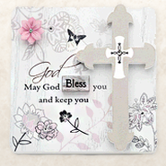 May God Bless You Plaque  -