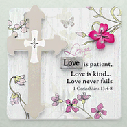 Love is Patient Plaque  -