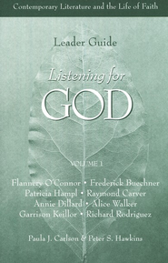 Listening for God, Volume 1, Leaders guide   -