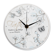 Faith Brings Hope Clock  -
