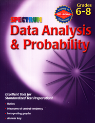 Spectrum Data Analysis & Probability, Grades 6-8  -
