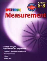 Spectrum Measurement, Grades 6-8  -