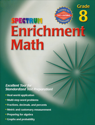 Spectrum Enrichment Math, Grade 8  -