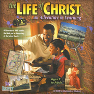 Life of Christ, Grades 3-8 CD-Rom   -
