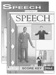 High School Fine Arts Elective: Speech SCORE Keys 1-6   -
