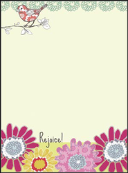 Rejoice in the Lord Memo Pad  -