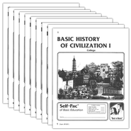 Advanced High School or College Elective: History of Civilization 1 PACEs 1-10  -