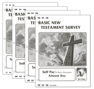 High School Bible Elective: New Testament Survey SCORE Keys 97-108  -