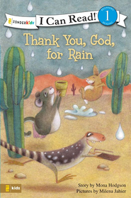 Thank You, God, for Rain - eBook  -     By: Mona Hodgson     Illustrated By: Milena Jaheir