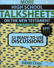 More High School TalkSheets on the New Testament, Epic Bible Stories  -              By: David Lynn