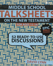 Middle School TalkSheets  -     By: David Lynn